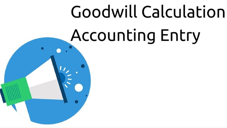 METHODS TO CALCULATE GOODWILL