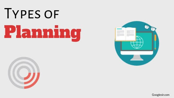 TYPES OF PLANNING IN BUSINESS