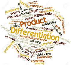 PRODUCT DIFFERENTIATION STRATEGY