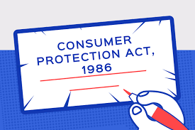 CONSUMER PROTECTION ACT 1986
